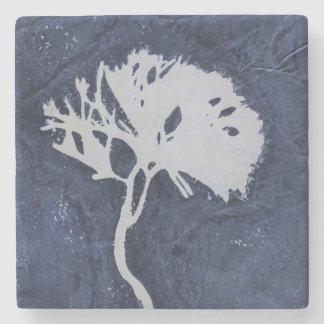 Dessous-de-verre En Pierre Dessous de verre en pierre carrés floraux de