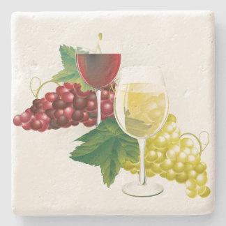 Dessous-de-verre En Pierre Dessous de verre en pierre d'amateurs de vin