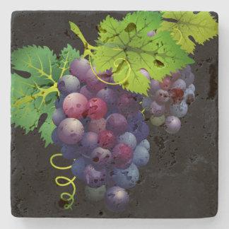 Dessous-de-verre En Pierre Dessous de verre en pierre de raisins