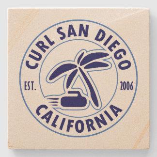Dessous-de-verre En Pierre Dessous de verre en pierre de San Diego de boucle