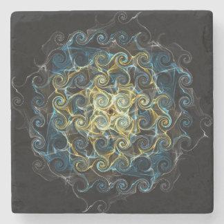 Dessous-de-verre En Pierre Dessous de verre en pierre modelés par gouttes de