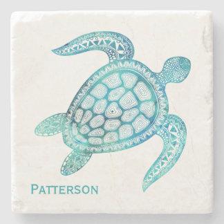 Dessous-de-verre En Pierre Dessous de verre en pierre personnalisés de tortue