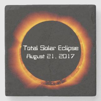 Dessous-de-verre En Pierre Éclipse 2017 solaire totale