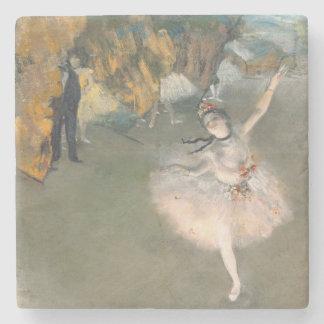 Dessous-de-verre En Pierre Edgar Degas | l'étoile, ou danseur sur l'étape