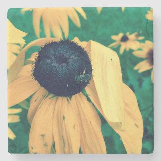 Dessous-de-verre En Pierre Fleur et abeille