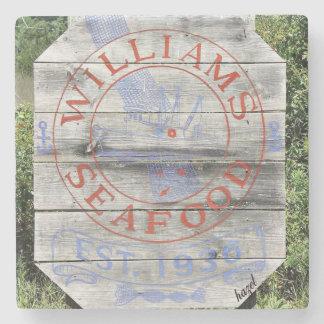Dessous-de-verre En Pierre Fruits de mer de Williams, caboteurs de la Géorgie