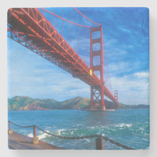 Dessous-de-verre En Pierre Golden gate bridge, la Californie