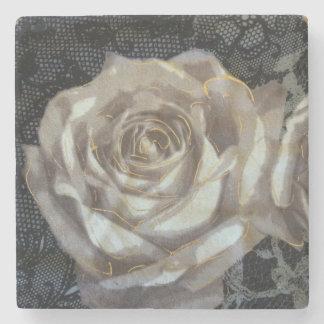 Dessous-de-verre En Pierre Gris et dessous de verre en pierre de marbre roses