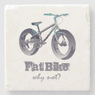 Dessous-de-verre En Pierre Gros vélo pourquoi citation non de motivation avec