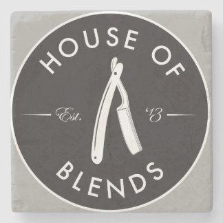 DESSOUS-DE-VERRE EN PIERRE HOUSE OF BLEND
