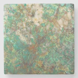Dessous-de-verre En Pierre Image en pierre minérale verte