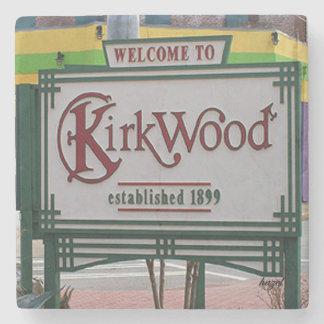 Dessous-de-verre En Pierre Kirkwood, Atlanta bienvenu, la Géorgie. Dessous de