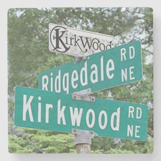 Dessous-de-verre En Pierre Kirkwood Ridgedale, Atlanta la Géorgie