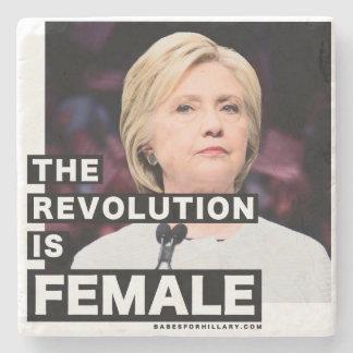 Dessous-de-verre En Pierre La révolution est femelle
