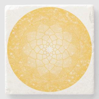 Dessous-de-verre En Pierre Le plexus solaire Chakra