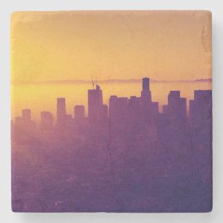 Dessous-de-verre En Pierre Los Angeles au coucher du soleil