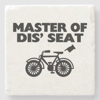 Dessous-de-verre En Pierre Maître de la bicyclette de Seat du DIS