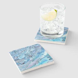 Dessous-de-verre En Pierre marbre bleu