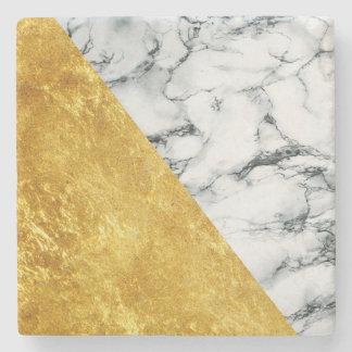 Dessous-de-verre En Pierre Marbre + Dessous de verre en pierre d'or