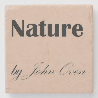 Dessous-de-verre En Pierre Nature par des dessous de verre de logo de four de