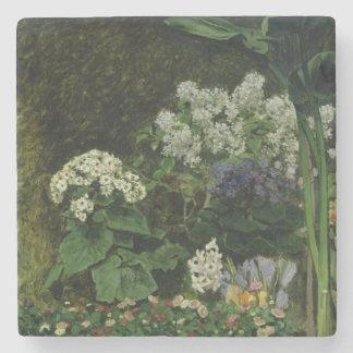 Dessous-de-verre En Pierre Pierre fleurs de Renoir un | en serre chaude