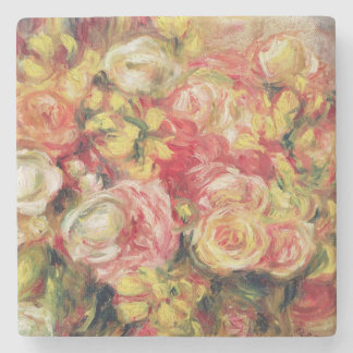 Dessous-de-verre En Pierre Pierre roses de Renoir un |