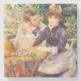Dessous-de-verre En Pierre Pierre un Renoir | dans le jardin