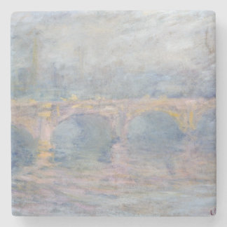 Dessous-de-verre En Pierre Pont de Claude Monet | Waterloo, Londres, au