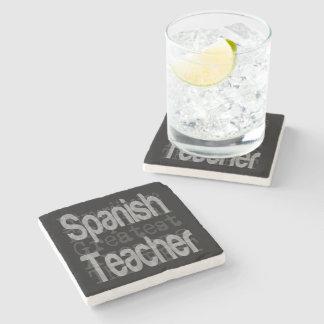Dessous-de-verre En Pierre Professeur espagnol Extraordinaire