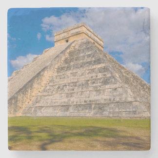 Dessous-de-verre En Pierre Ruines de Chichen Itza au Mexique