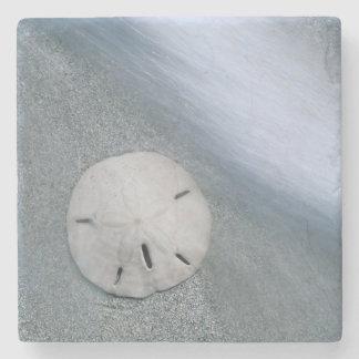 Dessous-de-verre En Pierre Sanddollar sur l'île de la plage | Sanibel, la