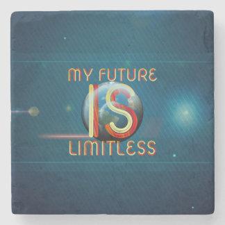 Dessous-de-verre En Pierre SUPÉRIEUR mon avenir est sans limites