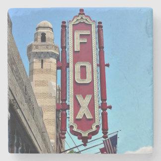 Dessous-de-verre En Pierre Théâtre de Fox, Atlanta, la Géorgie, dessous de