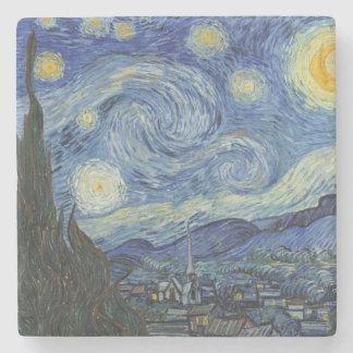 Dessous-de-verre En Pierre Vincent van Gogh | la nuit étoilée, juin 1889