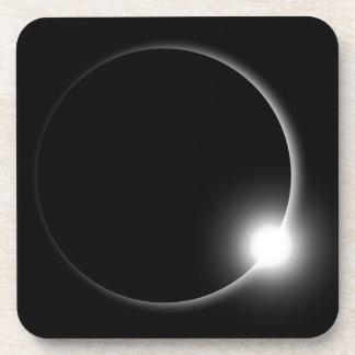 Dessous-de-verre Éruption chromosphérique de fusée de Sun d'éclipse