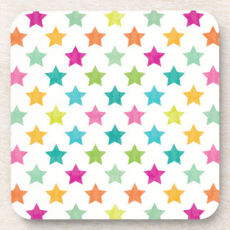 Dessous-de-verre Étoiles colorées IV