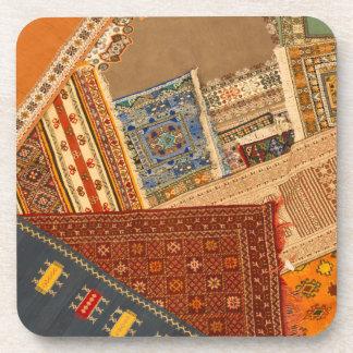 Dessous-de-verre Fin de collage de tapis