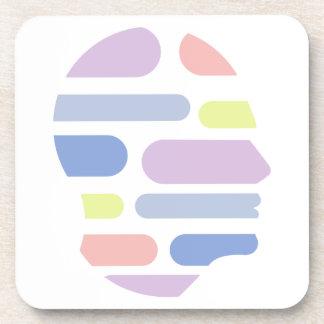 Dessous-de-verre Formes géométriques à l'intérieur de conception
