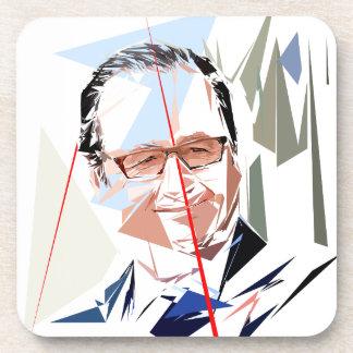 Dessous-de-verre François Hollande