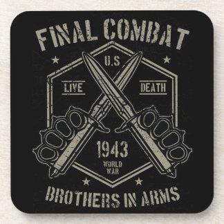 Dessous-de-verre Frères d'armes finaux de combat la guerre mondiale