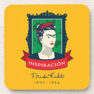 Dessous-de-verre Frida Kahlo | Inspiración