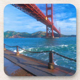 Dessous-de-verre Golden gate bridge, la Californie