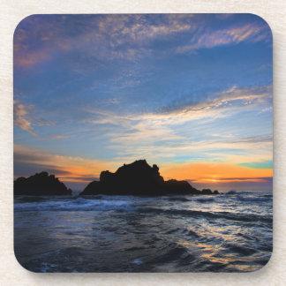 Dessous-de-verre Grand coucher du soleil de Sur