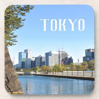 Dessous-de-verre Gratte-ciel à Tokyo, Japon