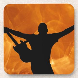 Dessous-de-verre Guitariste de concert
