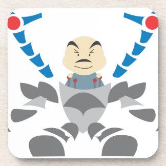 Dessous-de-verre Homme dans le robot