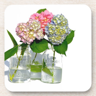 Dessous-de-verre Hortensias rustiques
