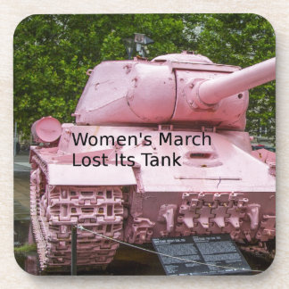 Dessous-de-verre Humour de la politique : Mars des femmes a perdu