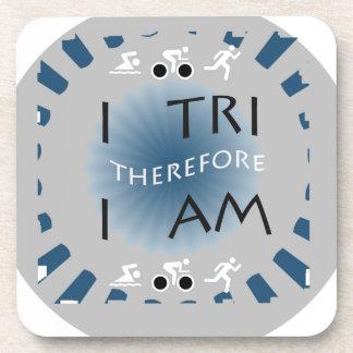 Dessous-de-verre I tri par conséquent je suis triathlon
