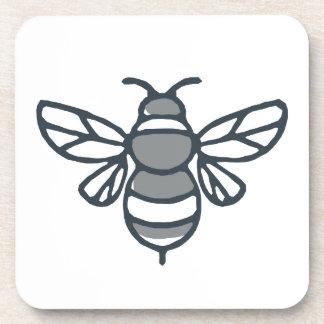 Dessous-de-verre Icône d'abeille de bourdon